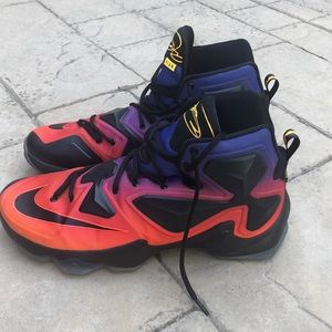 Nike Lebron Doernbecher shoes